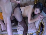 Jen and Rolf sexually excited nylons video