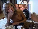 Nora in fantastic panty hose clip