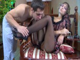 Bella and Pete nylons sex clip