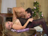 Judith and Clifford perverted hose job clip