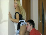 Blanch and Adam sexy panty hose movie scene
