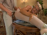 Hannah and Benjamin nasty panty hose act