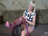 Mirabel pantyhose tease movie