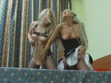 Sylvia and Tessa amazing leggings movie scene