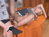 Susanna and Oscar astonishing stockings job movie scene