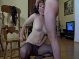 Gwendolen and Adam astonishing pantyhose movie