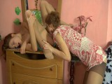 Sophy and Stephanie lesbo tights movie scene