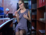 Barbara pantyhose tease movie scene