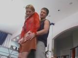 Ninette and Bertram great pantyhose video
