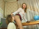 Alice and Mike sexual stockings action