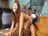 Jessica and Govard nasty tights clip