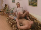 Ninette and Adrian great panty hose movie