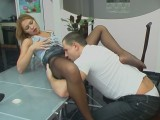 Antoinette and Maurice stockings fuck movie