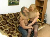 Isabella and Danil vicious pantyhose sex movie