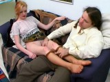 Ninette and Lesley deviant tights job scene
