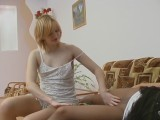 Abel and Antoinette naughty pantyhose video