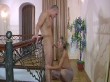 Nora and Nicholas nasty panty hose video