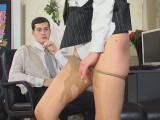 Laura and Jerome great pantyhose movie