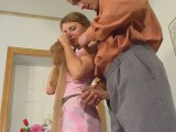 Alice and Mike awesome pantyhose act