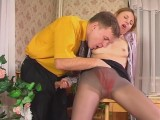 Alice and Peter sexy nylons episode
