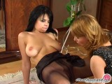 Alice and Gertie panty hose sex scene